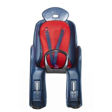 Велокресло на багажник Vinca Sport до 22 кг (красный)