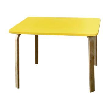 Стол детский Крошка.RU Мордочки (желтый)