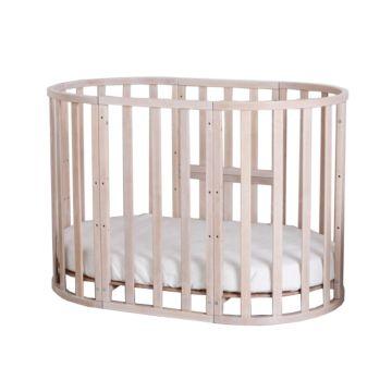 Кроватка-трансформер Incanto Da Vinci 10 в 1 (беленый дуб)