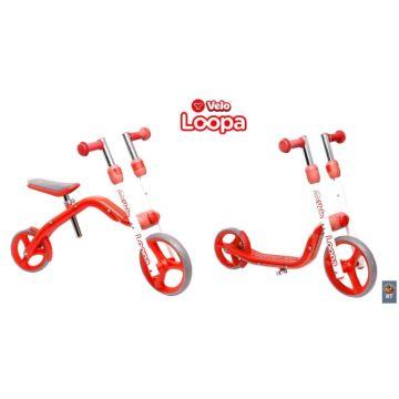 Беговел-самокат Y-Bike Loopa (красный)