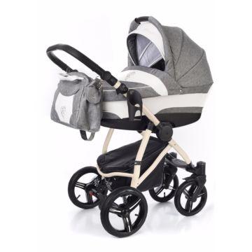 Коляска 2 в 1 Esspero Newborn Lux Beige Denim