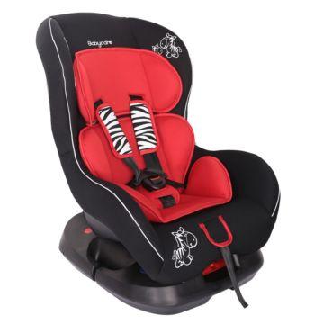 Автокресло Baby Care BC-303 Люкс Зебрик (красный)