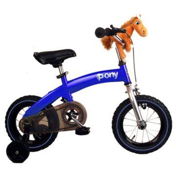 """Беговел-велосипед (2 в 1) Royal Baby Pony 12"""" (синий)"""