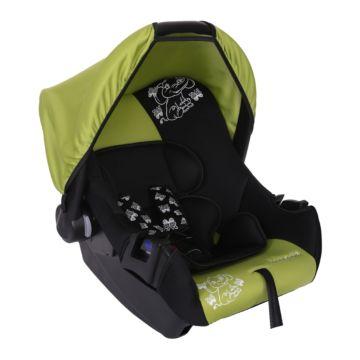 Автолюлька Baby Care BC-322 Слоник Люкс (зеленый)