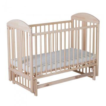 Кроватка детская Gnom Мишки (поперечный маятник) (лак)
