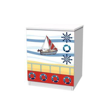 Тумба Кроватка5 Морское Путешествие