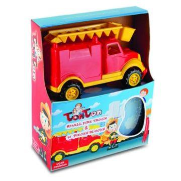 Пожарная машина Ucar Oyuncak Tonton Small + конструктор