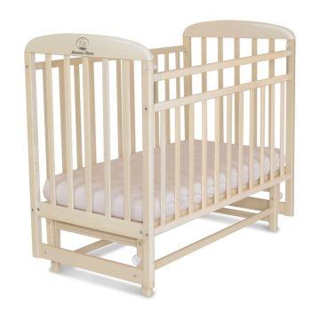 Кроватка детская Альма-Няня Венеция (поперечный маятник) (береза)