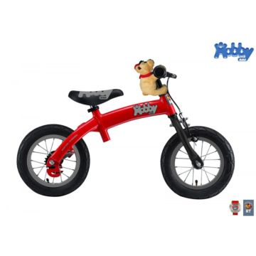 Беговел-велосипед (2 в 1) Hobby Bike New (красный)