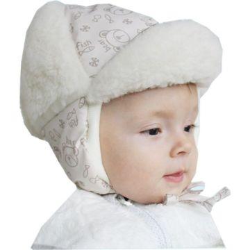 Шапка детская Little People Снежок (бежевый)