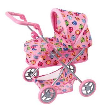 Коляска для куклы Melobo 9680 (Розовый)