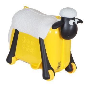 Каталка-чемодан Saipo Овечка (желтая)