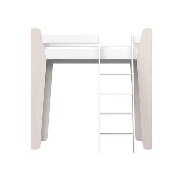 Кроватка-чердак Ellipse Line L (белый)