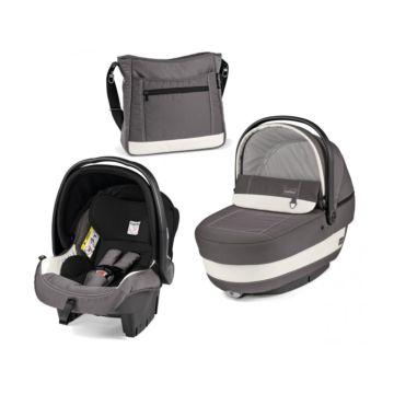 Комплект для коляски Peg-Perego Navetta XL Ascot (серый-белый)