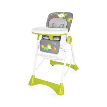 Стульчик для кормления Baby Design Pepe (серый)