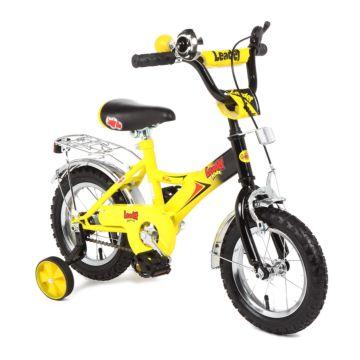"""Детский велосипед Leader Kids 12"""" (Желтый)"""