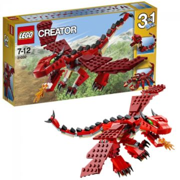 Конструктор Lego Creator 31032 Огнедышащий дракон