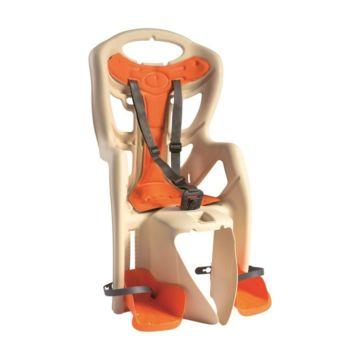 Велокресло на багажник Bellelli Pepe Clamp до 22 кг (бежевое)