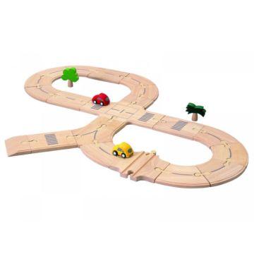 Развивающая игрушка PlanToys Деревянная дорога
