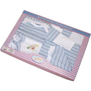 Комплект одежды для малыша Little People 6 пр. (голубой)