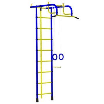 Детский спортивный комплекс Пионер 1 (сине-желтый)