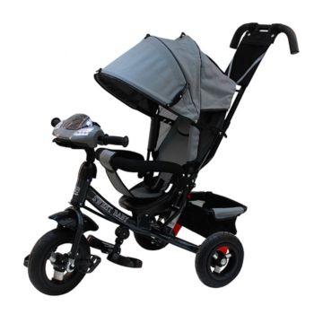 Трехколесный велосипед Sweet Baby Mega Lexus Trike Air Music Bar 10/12 Grey