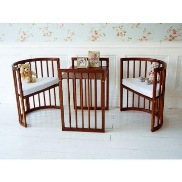 Дополнительный комплект для кроватки Nuovita Nido Magia (махагон)