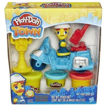 """Игровой набор Play-Doh Город """"Транспортные средства"""" (Мотоцикл)"""