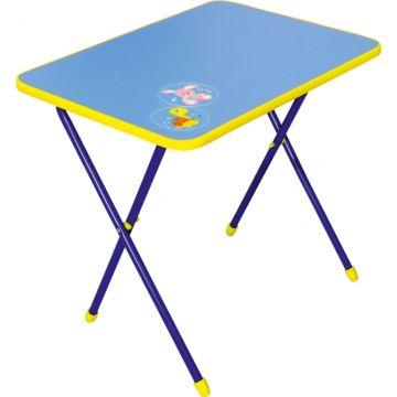 Стол складной Ника Детям Алина (Голубой)