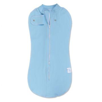 Пелёнка-кокон Baby Care 50х32 см на молнии с кнопкой (1 шт) Голубой