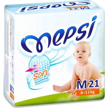 Подгузники Mepsi Mini M (6-11 кг) 21 шт.