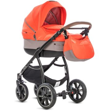 Коляска 2 в 1 Noordi Sole SP Orange Red