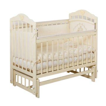 Кроватка детская Incanto Pali (продольный маятник) (слоновая кость)