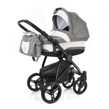 Коляска 2 в 1 Esspero Newborn Lux Black Denim