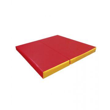 Гимнастический мат Kampfer №4 100х100см (красный)