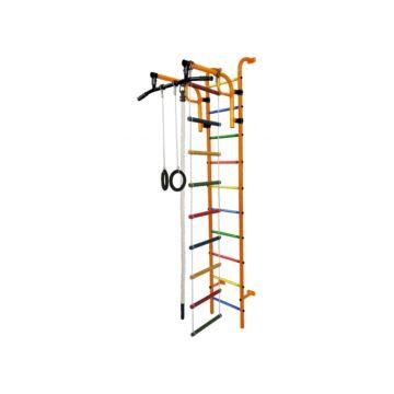 Детский спортивный комплекс Формула Здоровья Аистенок-1А Плюс (оранжевый)