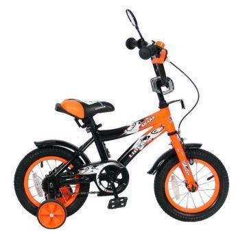 """Детский велосипед Velolider Shark 12A-1287 12"""" (оранжевый)"""