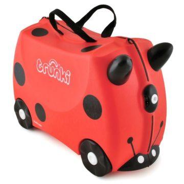 Каталка-чемодан Trunki Harley Ladybug Божья коровка