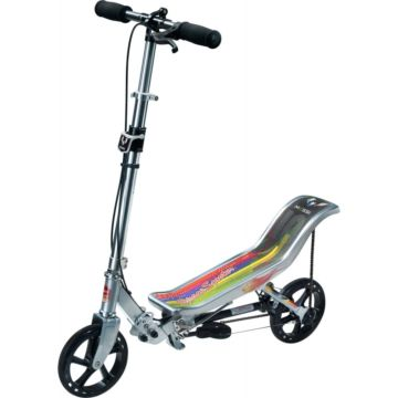 Самокат Space Scooter Messi LM580 (серебряный)