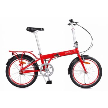 Велосипед складной Shulz Max (2017) красный