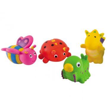 Игрушка для купания Canpol Babies с брызгалкой (4 шт)