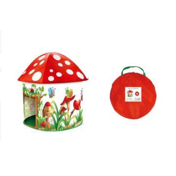 Детская палатка Yako Цветочный домик