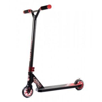 Трюковый самокат Slamm Rebel III Scooter (черный/красный)