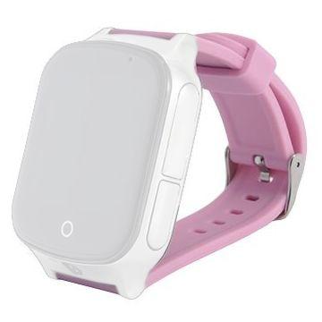 Ремешок силиконовый SmartBabyWatch T100 (розовый)