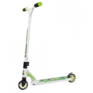 Трюковый самокат Slamm Urban XTRM II Scooter (белый/зеленый)