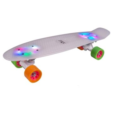 Мини-круизер Hudora Skateboard Retro Rainglow 22""