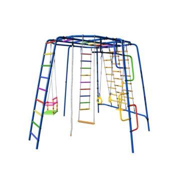Детский спортивный комплекс Формула Здоровья Спутник-1Z Плюс (синий)