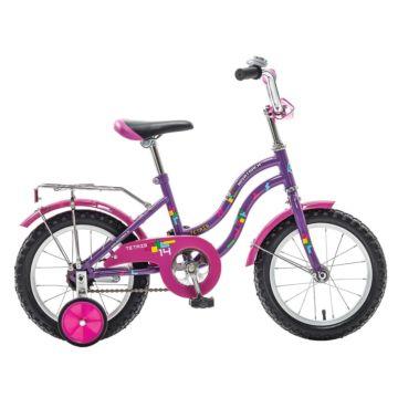 """Детский велосипед Novatrack Tetris 14"""" (2016) фиолетовый"""