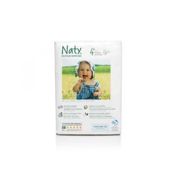 Подгузники Naty 4+ (9-20 кг) 44 шт