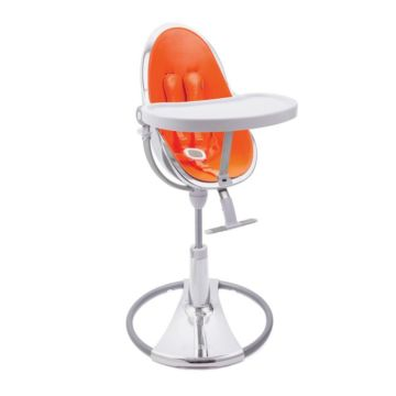 Стульчик Bloom Fresco Chrome Special Edition Silver Harvest Orange